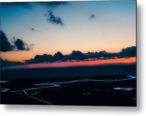 Sunrise Metal Print featuring the photograph Lewes-rehoboth Canal @ Sunrise by Path Joy Snyder
