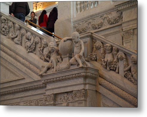 Washington Metal Print featuring the photograph Library Of Congress - Washington Dc - 011313 by DC Photographer