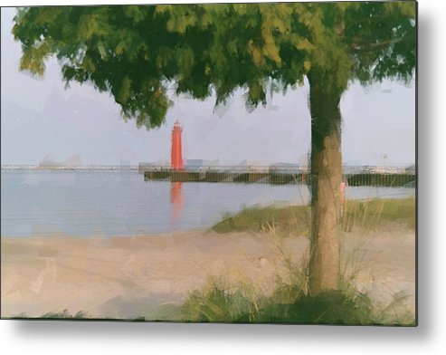 Metal Print featuring the photograph Lighthouse Pastel by Ritter Photography And Fine Art Images