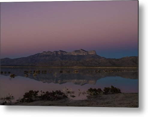 Guadalupe Mountains Metal Print featuring the photograph Lights Out Over Guadalupe by JL Griffis