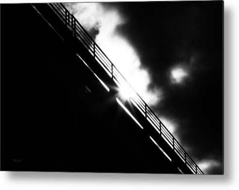 Abstract Metal Print featuring the photograph Looking At The Sun by Bob Orsillo