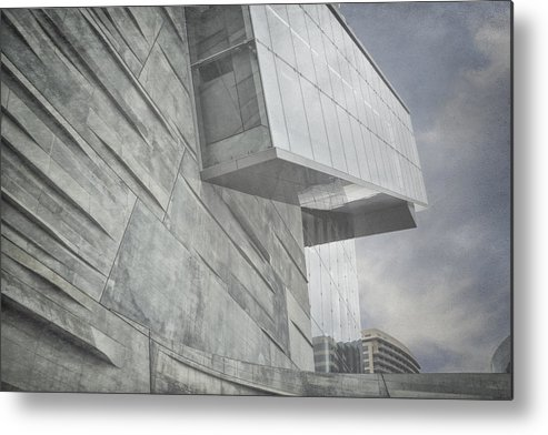 Museum Metal Print featuring the photograph Looming by Joan Carroll