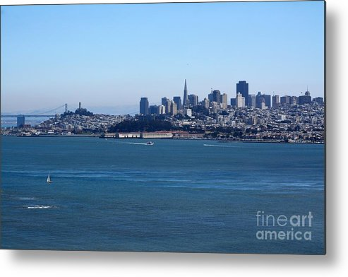 San Francisco Metal Print featuring the photograph Love The Bay by Beth Sanders
