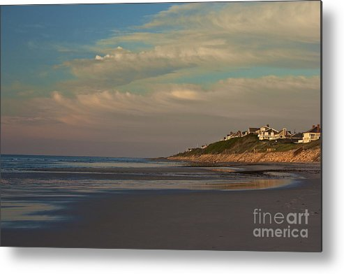 Bayview Beach Metal Print featuring the photograph Low Tide by Amazing Jules