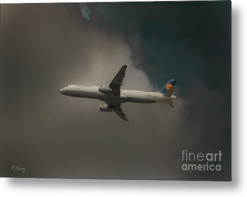 Lufthansa Airlines Metal Print featuring the photograph Lufthansa A320 Airbus by Rene Triay Photography