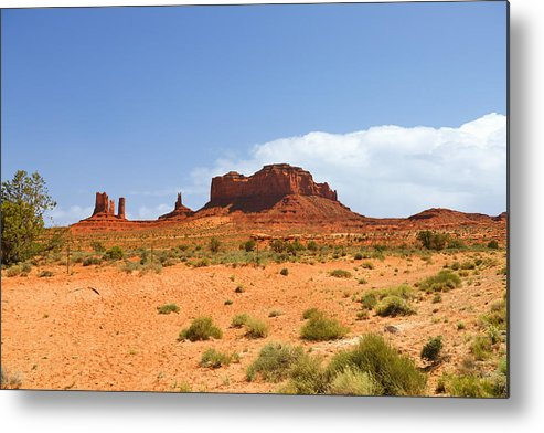 Monument Metal Print featuring the photograph Magnificent Monument Valley by Christine Till