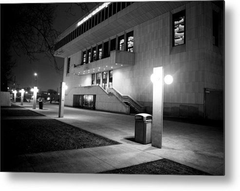 Canon Metal Print featuring the photograph Marcus Center For The Performing Arts by Ricky L Jones