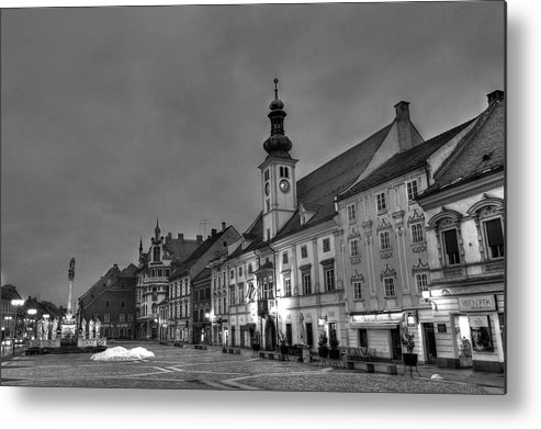 Architecture Metal Print featuring the photograph Maribor by Ivan Slosar
