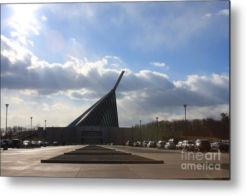 Marine Metal Print featuring the photograph Marine Corps Museum by Andrew Romer