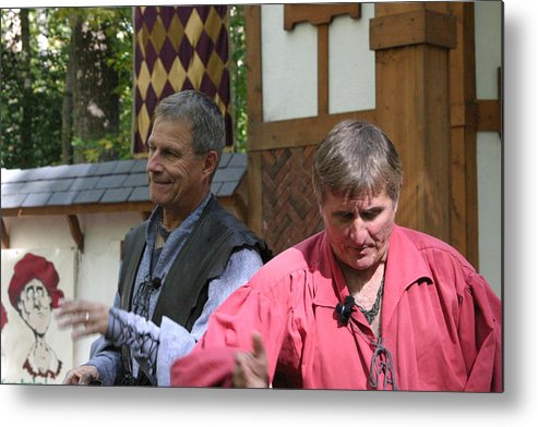 Maryland Metal Print featuring the photograph Maryland Renaissance Festival - Puke N Snot - 121210 by DC Photographer