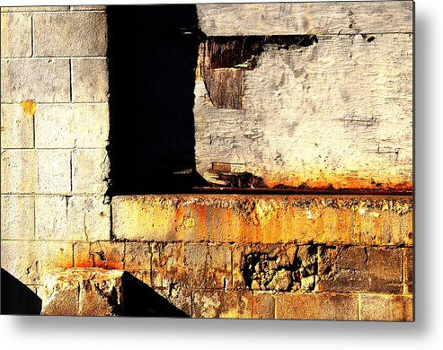 Abstract Metal Print featuring the photograph Material Art by Clayton Odom