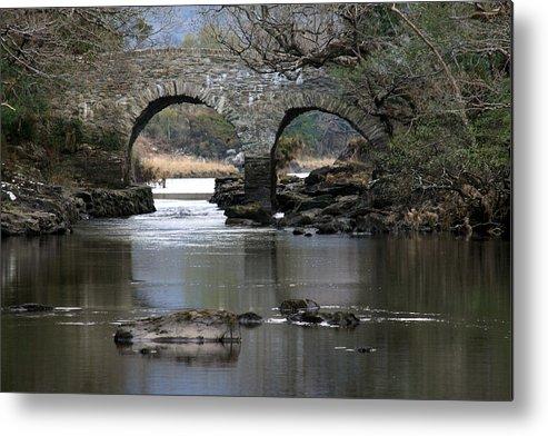 Bridge Metal Print featuring the photograph Meeting Of The Waters by Aidan Moran
