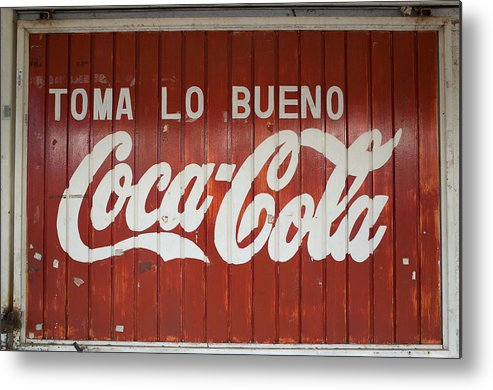 Coca-cola Metal Print featuring the photograph Mexican Coke by Eugene Kogan