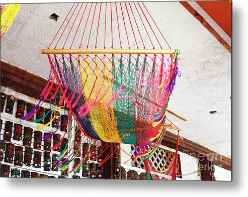 Mexico Metal Print featuring the photograph Mexican Souvenir by Charline Xia