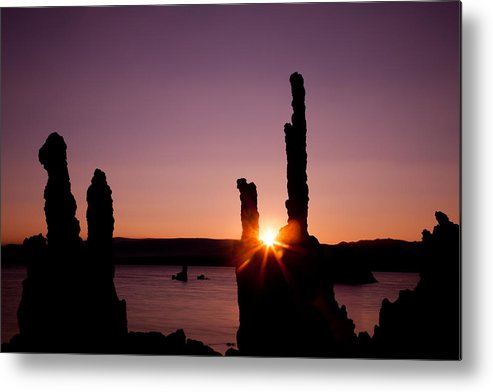 California Metal Print featuring the photograph Mono Lake Morning by Andy Bitterer