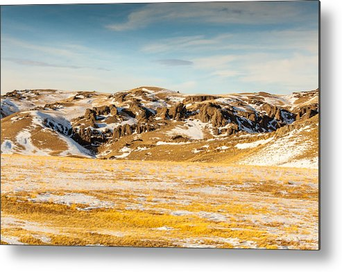 Seattle Metal Print featuring the photograph Montana Hills by Paul Bartoszek