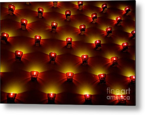 Mood Metal Print featuring the photograph Moody Red by Jacqueline Athmann