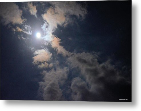 Moonlight Madness Metal Print featuring the photograph Moonlight Madness by Maria Urso