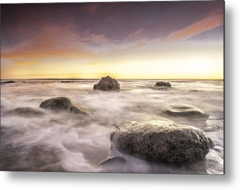 Landscapes Metal Print featuring the photograph Morning Sinrise by Anthony Melendrez