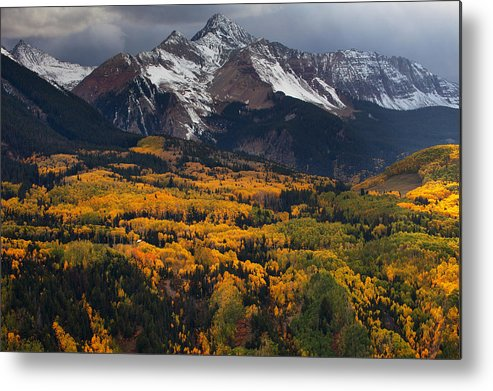 Colorado Landscapes Metal Print featuring the photograph Mountainous Storm by Darren White