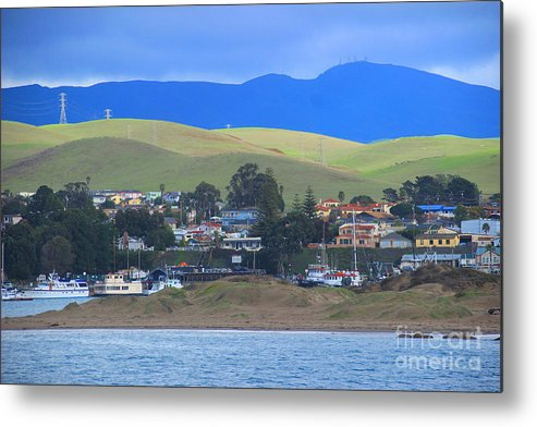 Morro Bay Metal Print featuring the photograph My Hometown by Kris Hiemstra