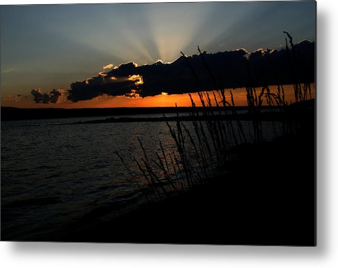 Sunset Metal Print featuring the photograph Myers Sunset by Monroe Payne