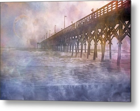 Topsail Metal Print featuring the photograph Mystical Morning by Betsy Knapp