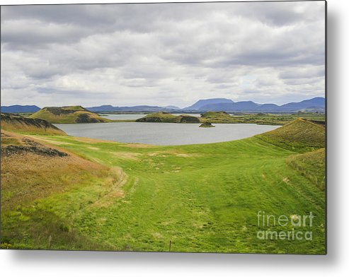 Beautiful Metal Print featuring the photograph Myvatn by Patricia Hofmeester