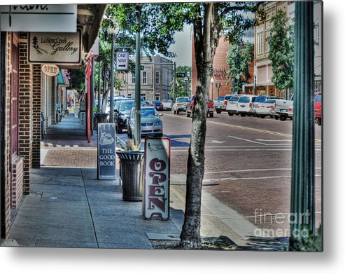 Nacogdoches Metal Print featuring the photograph Nacogdoches by Savannah Gibbs