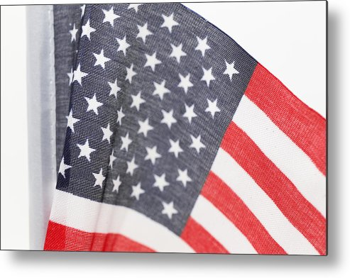 America Metal Print featuring the photograph National Flag by Frederick Kjorling