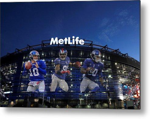 Giants Metal Print featuring the photograph New York Giants Metlife Stadium by Joe Hamilton