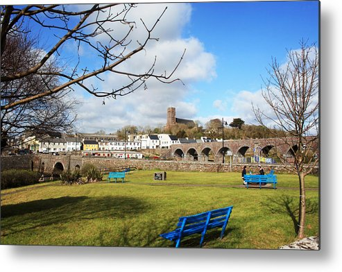 Newport Metal Print featuring the photograph Newport County Mayo by Linda Mc Nulty