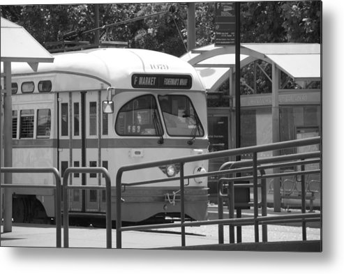 Trolley Metal Print featuring the photograph Next Stop by Jean-Pierre Mouzon