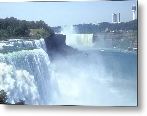 Landmark Metal Print featuring the photograph Niagara Falls - New York by Mike McGlothlen