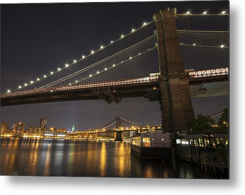 Landscape Metal Print featuring the photograph Night Shot by Boris Blyumberg