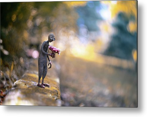 Flowers Metal Print featuring the photograph Nine by Erdal Suat