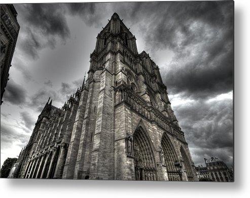 Paris Metal Print featuring the photograph Notre Dame by John Keyser