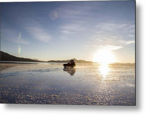 Uyuni Metal Print featuring the photograph Off Road Uyuni Salt Flat Tour by For Ninety One Days
