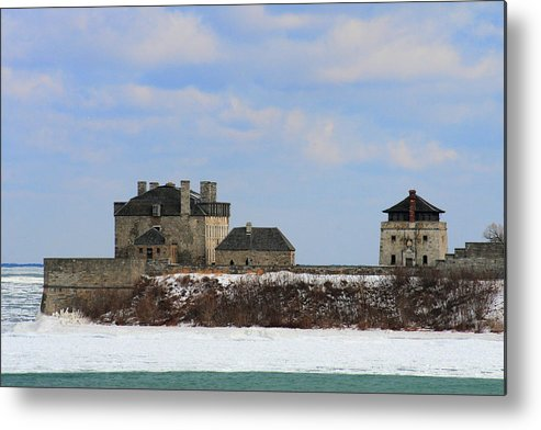 Architecture Metal Print featuring the photograph Old Fort Niagara by Michael Allen