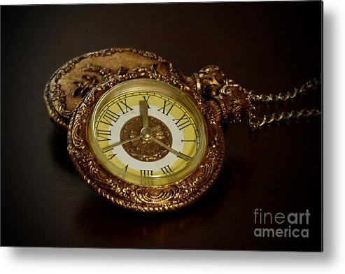 Old Grandfather Time Metal Print featuring the photograph Old Grandfather Time by Inspired Nature Photography Fine Art Photography