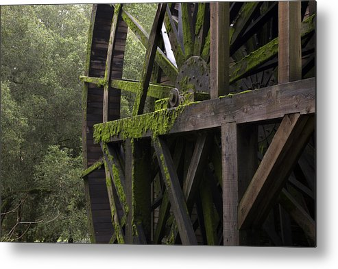 Napa Metal Print featuring the photograph Old Mill In Napa by Carol M Highsmith