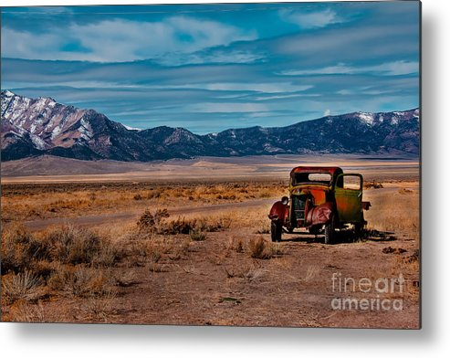 Transportation Metal Print featuring the photograph Old Pickup by Robert Bales