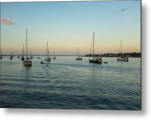 Saint Augustine Metal Print featuring the photograph On The Hook In Saint Augustine by Dario Boriani