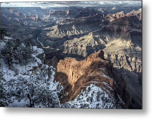 Grand Canyon Metal Print featuring the photograph Ongtupqa by Heath Yonaites