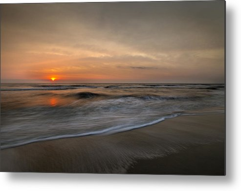 Sunrise Metal Print featuring the photograph Orange Mood by Razvan Balotescu