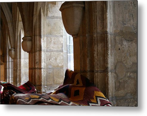 Rugs Metal Print featuring the photograph Oriental Rugs In Paris by A Morddel