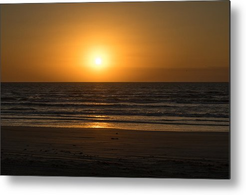 Padre Island National Seashore Metal Print featuring the photograph Padre Sunrise by JL Griffis