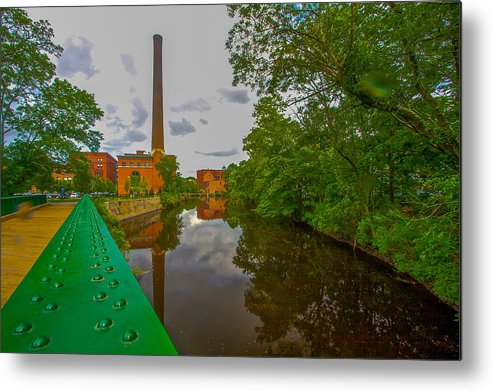 Photograph Metal Print featuring the photograph Painting The River by Brian MacLean