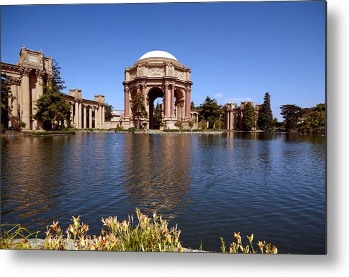 Palace Metal Print featuring the photograph Palace Of Fine Artstheatre In San Francisco by Carol M Highsmith