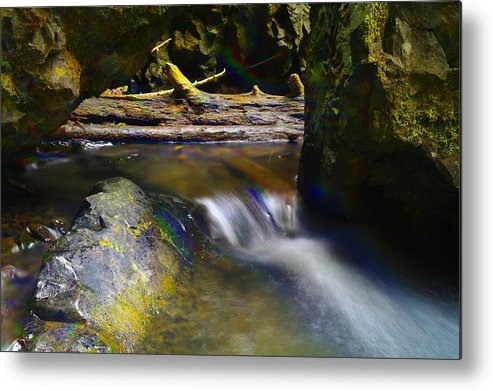 Water Metal Print featuring the photograph Paradise Whispers by Jeff Swan